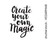 conceptual hand drawn phrase... | Shutterstock .eps vector #452689468