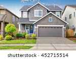 nice curb appeal of two level... | Shutterstock . vector #452715514