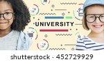 literacy training schooling...   Shutterstock . vector #452729929