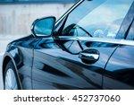 modern car exterior. driver's... | Shutterstock . vector #452737060