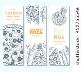 pizza banner design template....   Shutterstock .eps vector #452755546