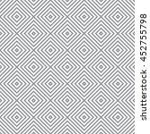 seamless rhombus pattern.... | Shutterstock .eps vector #452755798
