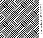 vector seamless texture. modern ... | Shutterstock .eps vector #452757610