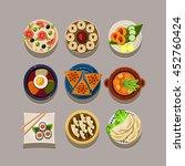 korean food illustration | Shutterstock . vector #452760424