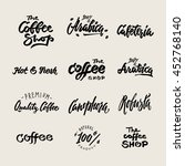 symbol  set of labels. logos... | Shutterstock .eps vector #452768140