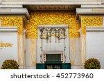 the secession building  wiener... | Shutterstock . vector #452773960
