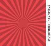 retro sun ray background ... | Shutterstock .eps vector #452784523