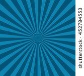 retro sun ray background ... | Shutterstock .eps vector #452784553