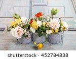 floral arrangement with