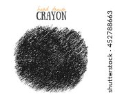 crayon scribble oval texture.... | Shutterstock .eps vector #452788663
