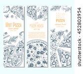 pizza banner design template....   Shutterstock .eps vector #452803954
