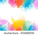 creative vibrant grunge... | Shutterstock . vector #452808550