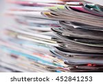 newspapers  | Shutterstock . vector #452841253