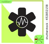 medical  ambulance  icon | Shutterstock .eps vector #452852158