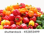 Bell Peppers Yellow  Green And...