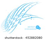 abstract lines | Shutterstock .eps vector #452882080