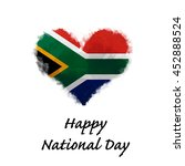 happy national day south african | Shutterstock . vector #452888524