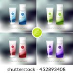 vector body care cosmetics... | Shutterstock .eps vector #452893408