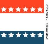 stripes  background  america  | Shutterstock .eps vector #452895610