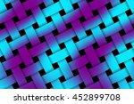 Illustration Of Purple And Cya...