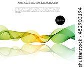 illustration vector abstract... | Shutterstock .eps vector #452903194