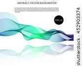 illustration vector abstract... | Shutterstock .eps vector #452903374