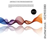 illustration vector abstract... | Shutterstock .eps vector #452903380