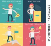 psychology terms illustrations... | Shutterstock .eps vector #452911213