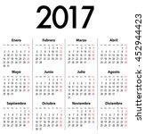 Spanish Calendar For 2017....