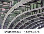 steel bridge bearings | Shutterstock . vector #452968276