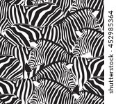 Zebra Seamless Pattern....
