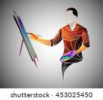 vector artist | Shutterstock .eps vector #453025450
