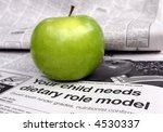 children need dietary role... | Shutterstock . vector #4530337