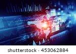 human user display . mixed media   Shutterstock . vector #453062884
