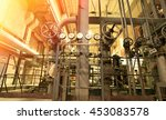 industrial zone  steel... | Shutterstock . vector #453083578