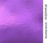purple metallic foil  | Shutterstock . vector #453094918