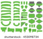 vector illustration of labels... | Shutterstock .eps vector #453098734