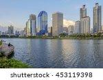 bangkok city  thailand 15 july... | Shutterstock . vector #453119398