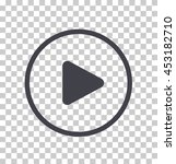 play button icon  vector | Shutterstock .eps vector #453182710