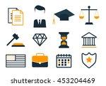 legal compliance deal... | Shutterstock . vector #453204469