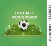 soccer   football design... | Shutterstock .eps vector #453258550