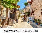 kalkan   june 07  street in the ... | Shutterstock . vector #453282310