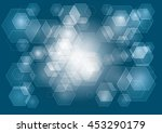 abstract background with... | Shutterstock .eps vector #453290179