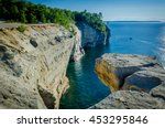 On top of Grand Portal Point, Pictured Rocks National Lakeshore