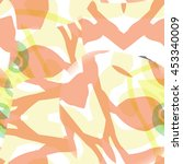 digitally created seamless... | Shutterstock .eps vector #453340009
