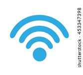 wifi technology signal internet ... | Shutterstock .eps vector #453347398