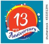 13th Years Greeting Card...