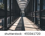 abstract hallway interior of... | Shutterstock . vector #453361720