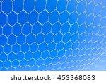 soccer goal net | Shutterstock . vector #453368083