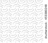 vector pattern. geometric... | Shutterstock .eps vector #453380248